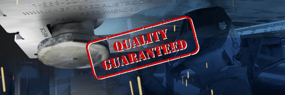 Kingpin Specialists Performs Quality Repairs